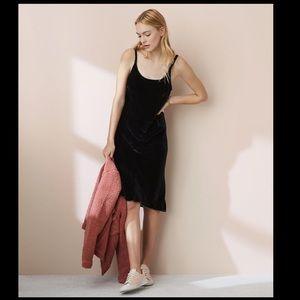 cp shades faye slip dress xs